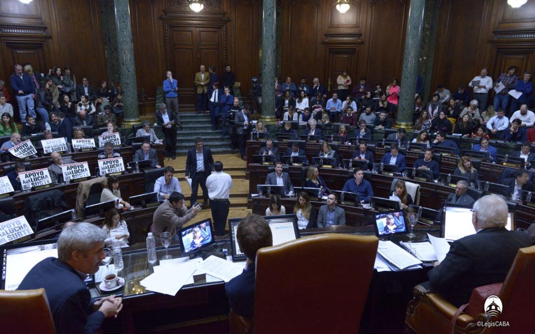 Larreta pide autorización para endeudarse y financiar obras