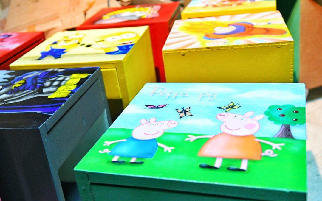 Presos donaron muebles al Hospital de Niños