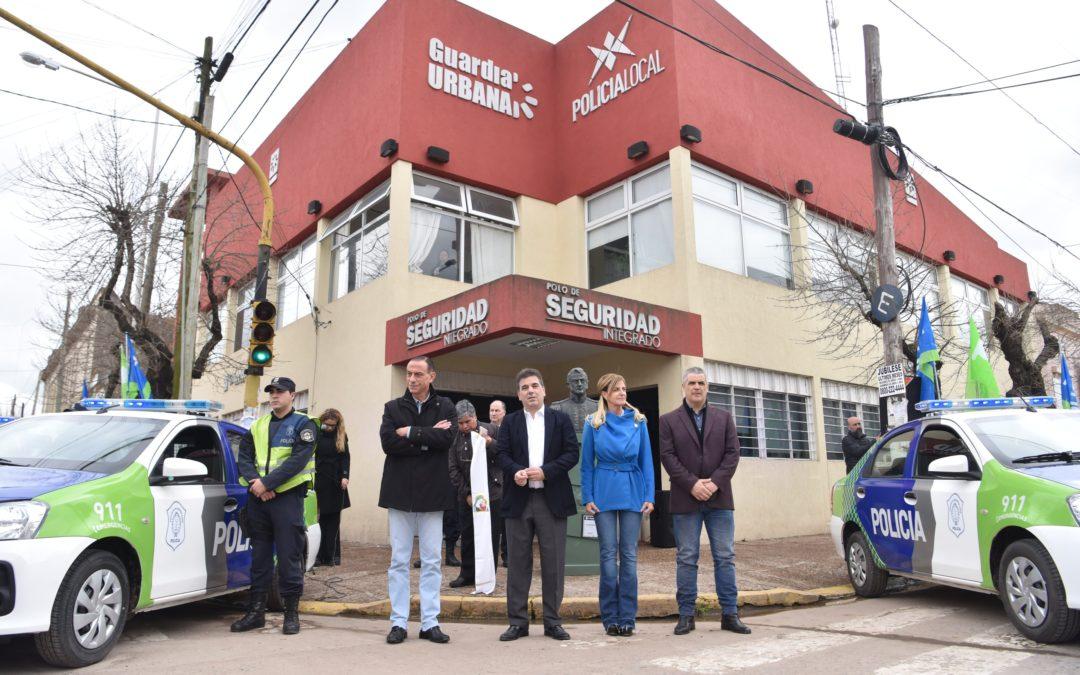 Refuerzo policial en Cañuelas, Perón y San Vicente