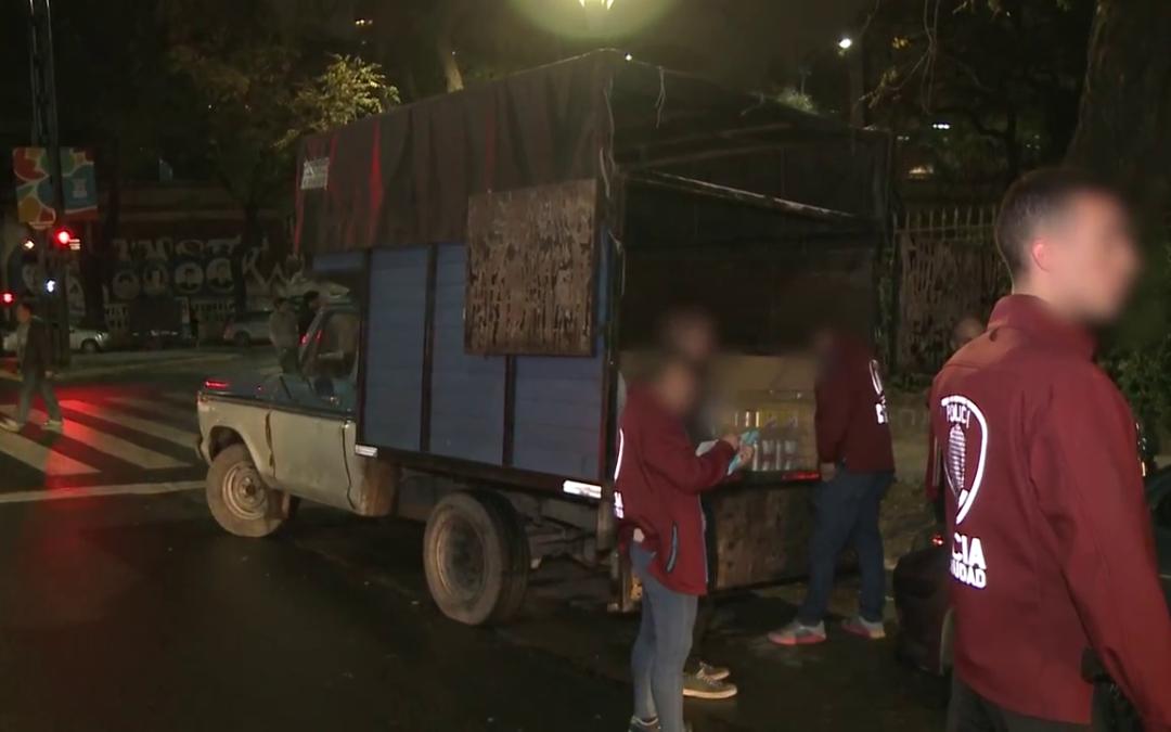 """Operativo """"anti trapitos"""" en la Costanerea"""