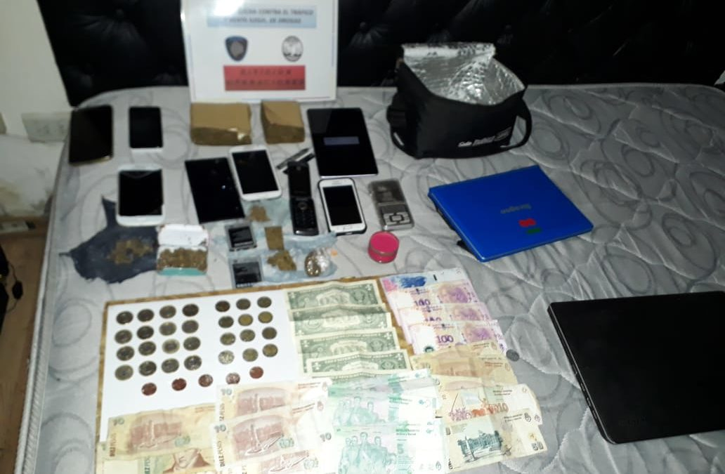 Desbaratan un red de narcotráfico