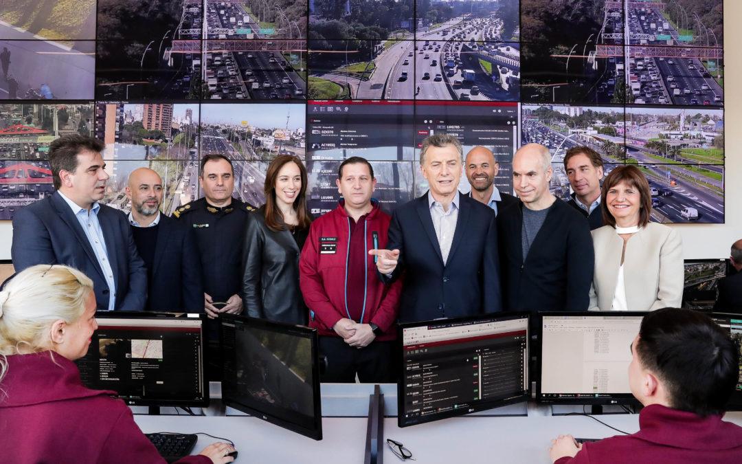 Macri presentó el plan de seguridad para el Área Metropolitana