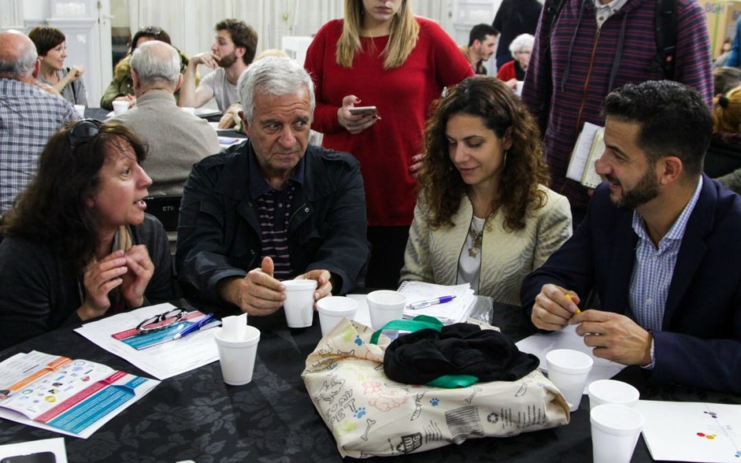 Flores: más de cien vecinos de debatieron iniciativas para su barrio