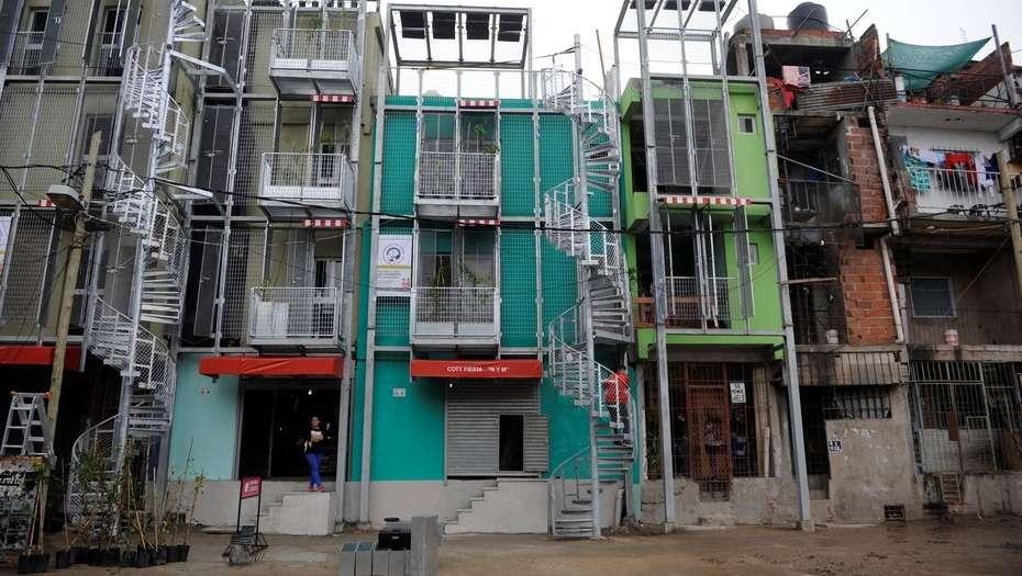 Avanza urbanización del barrio Padre Carlos Mugica