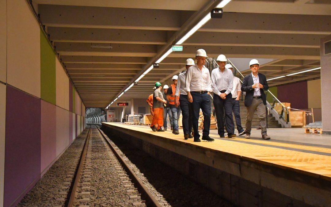 Larreta planea inaugurar tres nuevas estaciones de subte