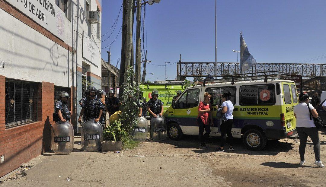 Echeverría: son 9 muertos por el incendio en la comisaría y ningún detenido