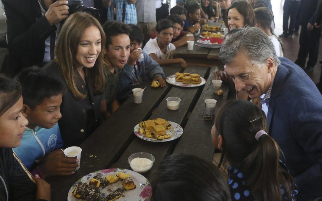 Campaña: Macri y Vidal en Ezeiza