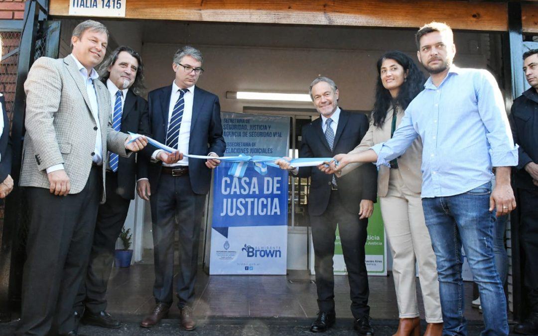 Nueva Casa de Justicia en Almirante Brown