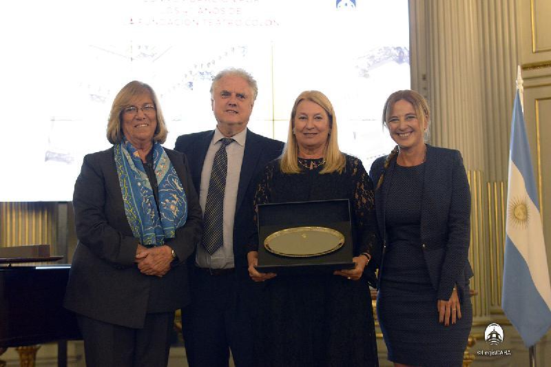 Legislatura: 40 años de la Fundación Teatro Colón