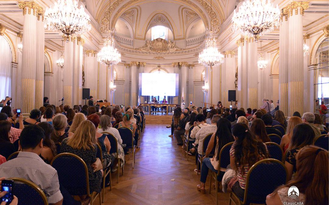 Jornada de memoria y homenajes en Legislatura porteña
