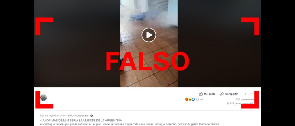 Reverso: No, este video no fue filmado en la Argentina durante la gestión de Macri