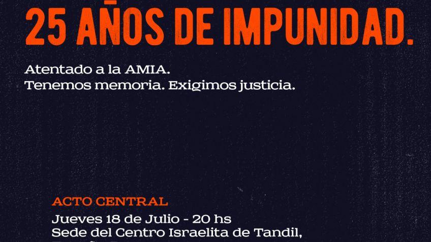 Atentado a la AMIA: 25 años sin Justicia para las 85 víctimas