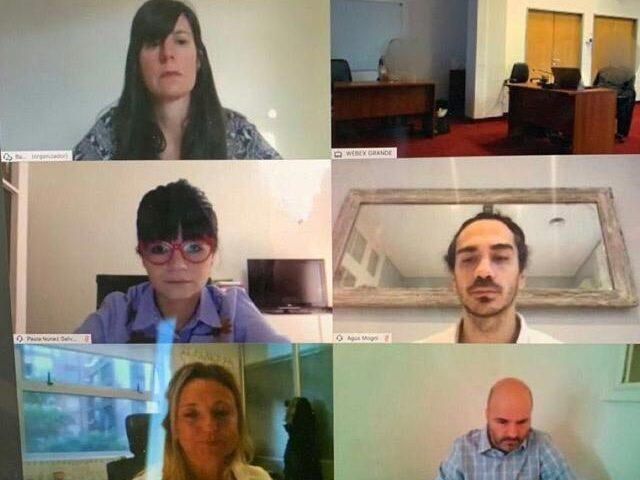 Primer juicio oral enteramente online