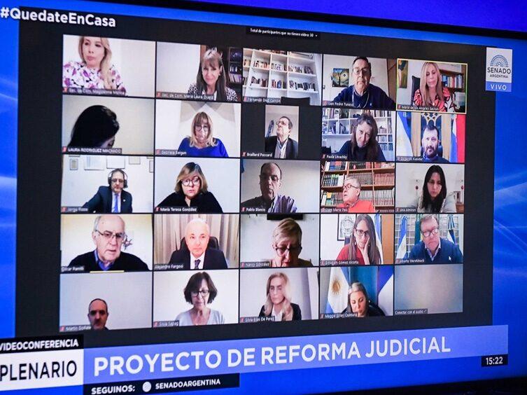 Reforma Judicial: la palabra de fiscales, abogados y defensores en el Senado