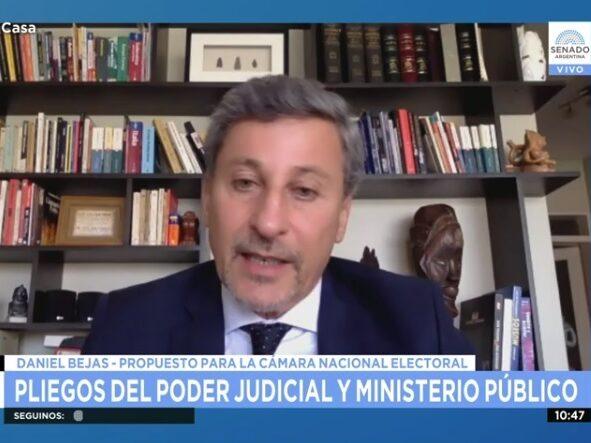 """""""Es la primera vez que un juez del interior integrará la Cámara Nacional Electoral"""""""