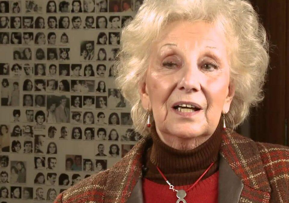 """Estela de Carlotto destacó la campaña del Equipo Argentino de Antropología Forense: """"Hay que rescatar del anonimato a esas piezas óseas"""""""