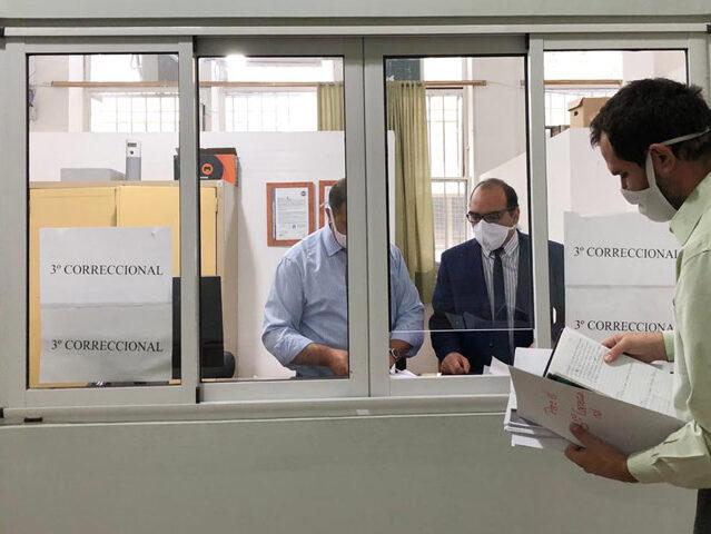 Los empleados judiciales exigieron ser vacunados