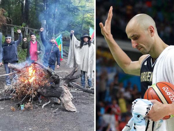 Manu Ginóbili vs mapuches: 14 años de un conflicto que aún no tiene solución amistosa