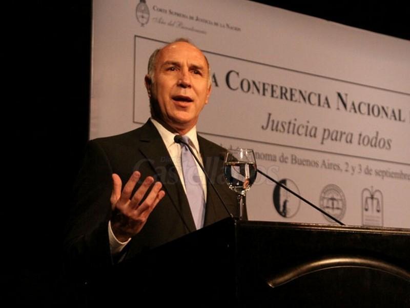 """Lorenzetti: """"No hay manera de que este sistema funcione bien si no hay una reforma legal"""""""