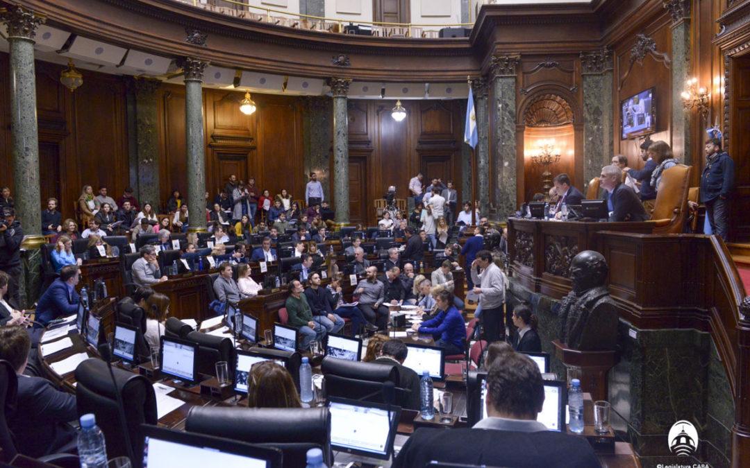 La Legislatura aprobó un nuevo régimen de inmuebles porteños