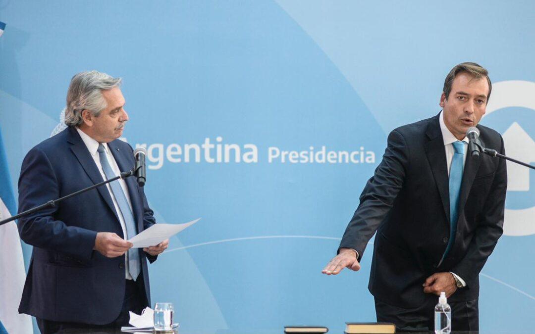 Martín Soria asumió como nuevo ministro de Justicia en medio de cruces con jueces y fiscales