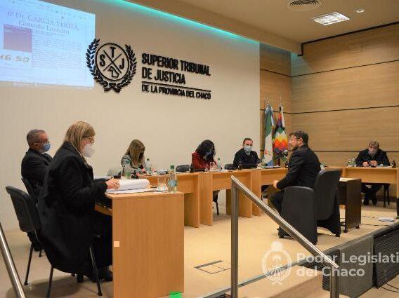 Chaco: avanza el concurso para sumar otro integrante al Superior Tribunal de Justicia