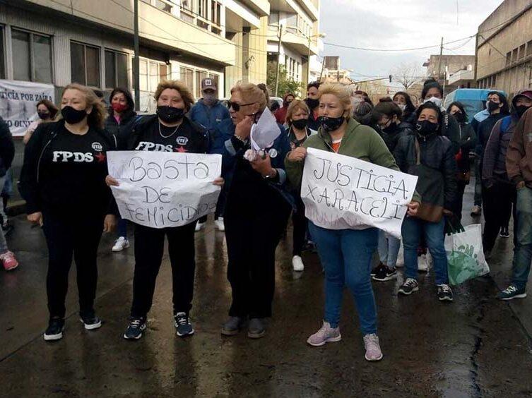 Juicio a ocho acusados del femicidio de Araceli