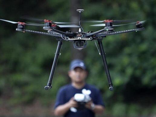 Las pruebas captadas por un drone invaden la intimidad de las personas