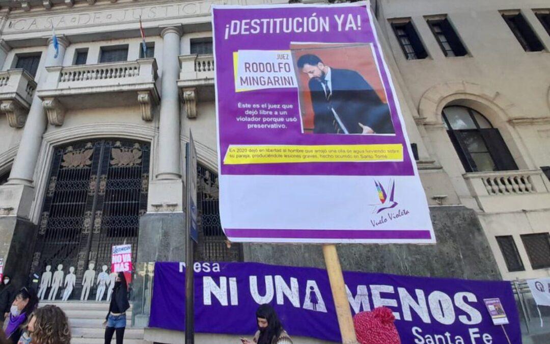 Santa Fe: juicio político a un juez que liberó a un violador por usar preservativo